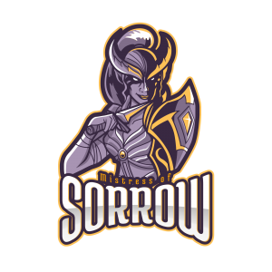 Esports Logo Design – Mistress of Sorrow