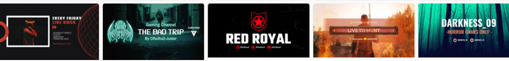 Banner Designs from LivionGames