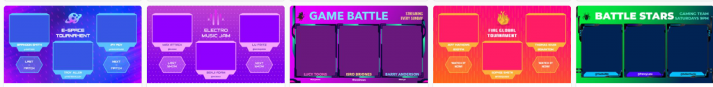 Overlay Templates at LivionGames