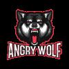 Esports Logo Angry Wolf
