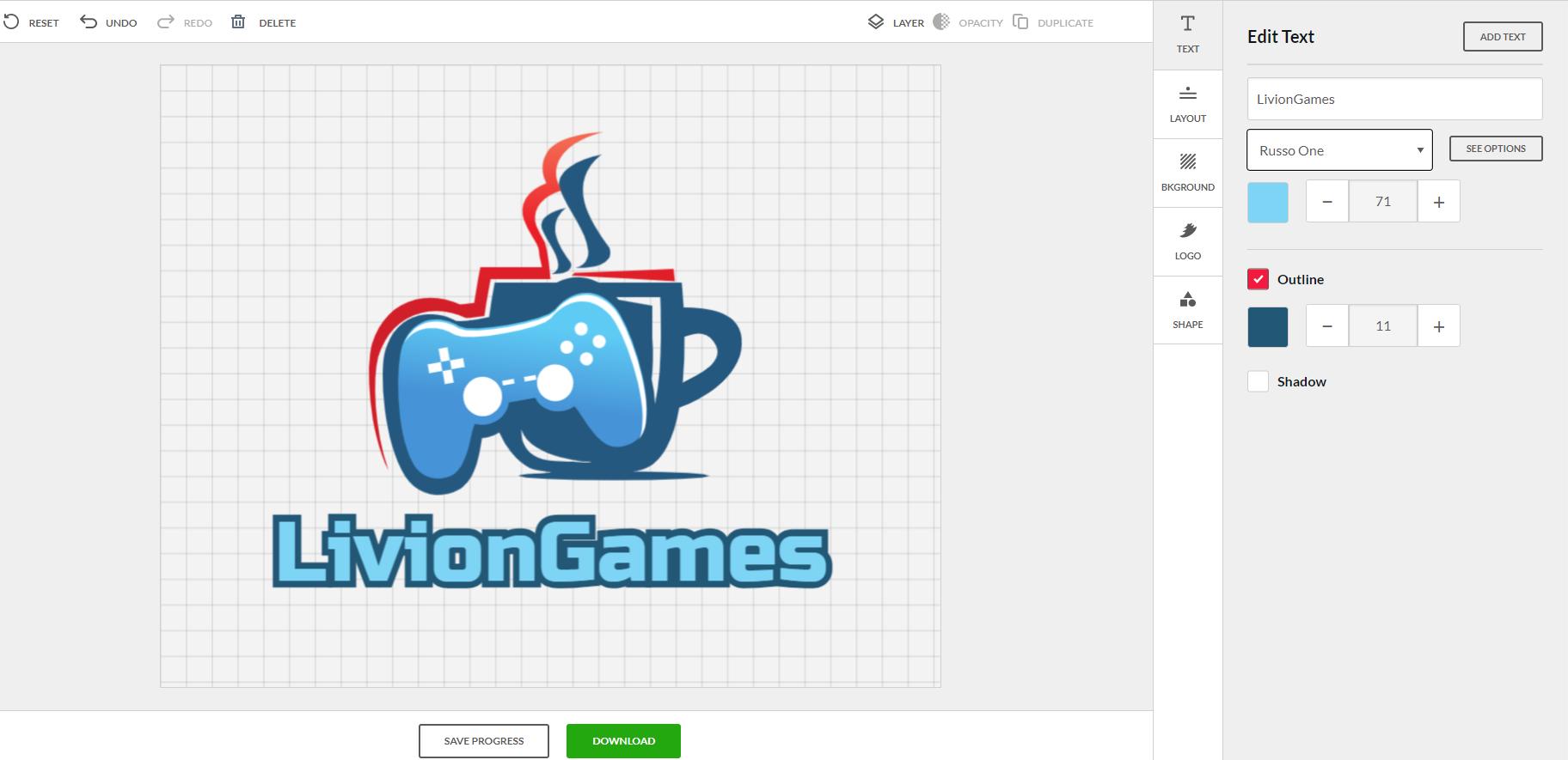 DIY Logo Edit Example